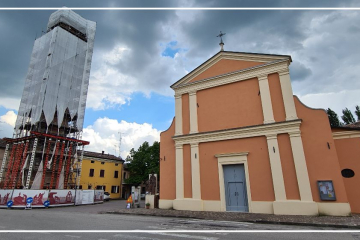 Campanile della chiesa di Reno Centese - FE - Commessa 1364
